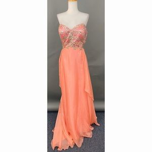 Aspreed L1272 Coral Dress XXXL